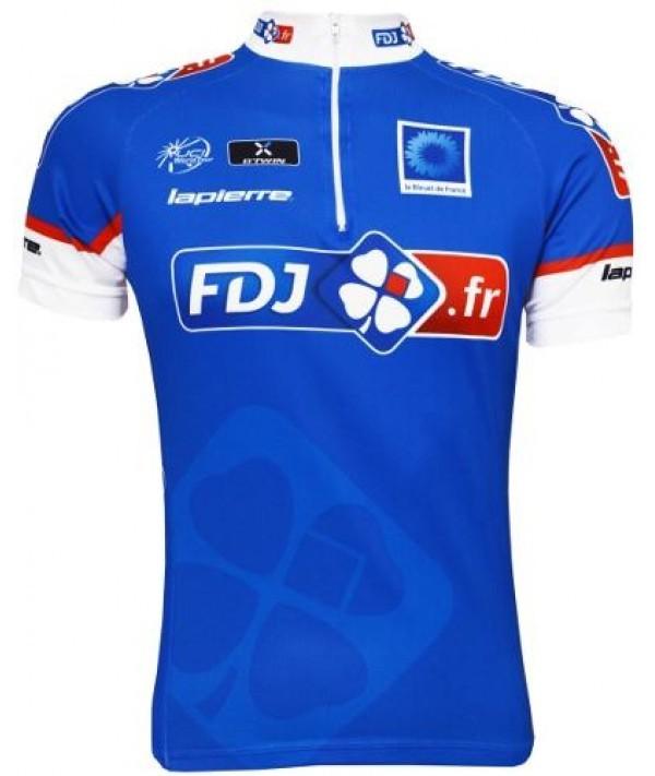 Camisa ERT - FDJ - Azul