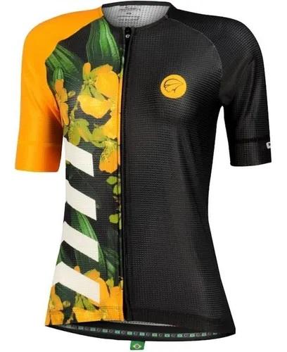 Camisa Mauro Ribeiro - Bloom - Feminina - Amarela