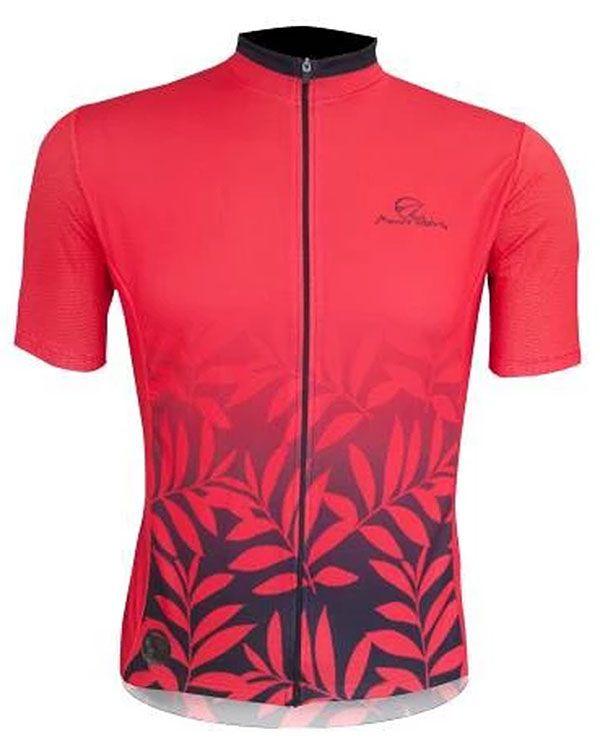 Camisa Mauro Ribeiro - Leaf - Vermelha