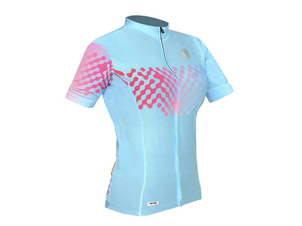 Camisa Mauro Ribeiro - Link - Feminina - Azul