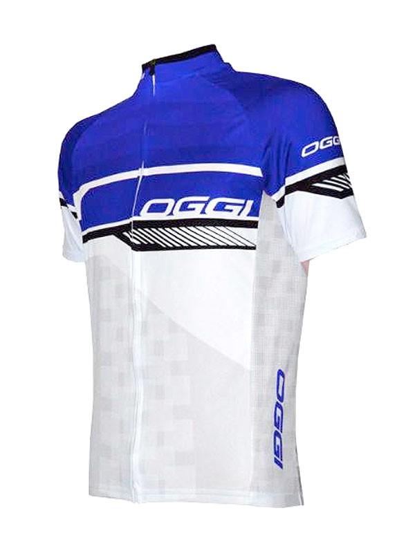 Camisa Oggi Strada - Branca / Azul