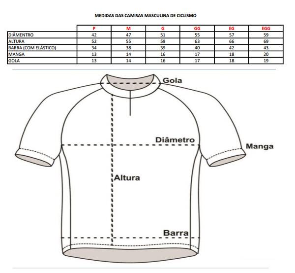 Camisa Penks - Land Pro - Azul / Preta / Branca - Tam M