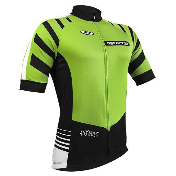 Camisa Refactor AirCross - Verde / Preta / Branca