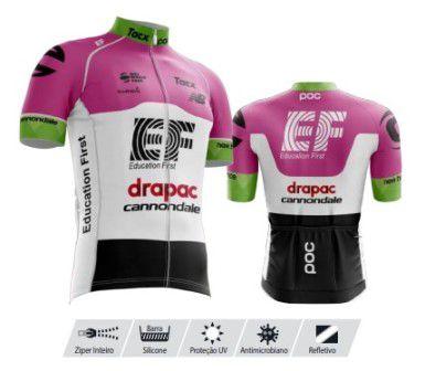 Camisa Refactor Tour de France Cannondale Rosa