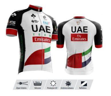 Camisa Refactor Tour de France UAE Branca