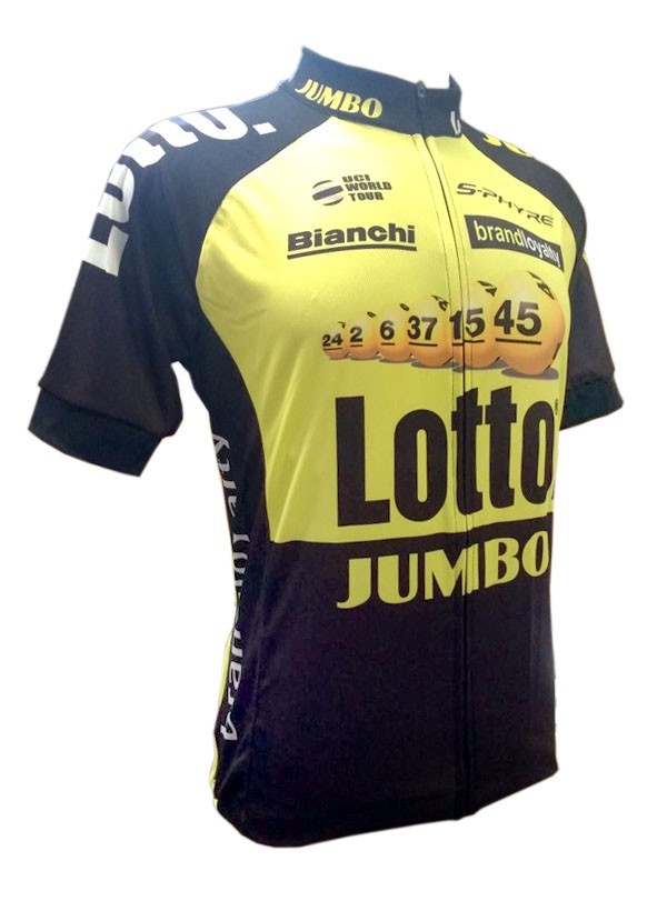 Camisa World Tour - Lotto Jumbo - Tam M
