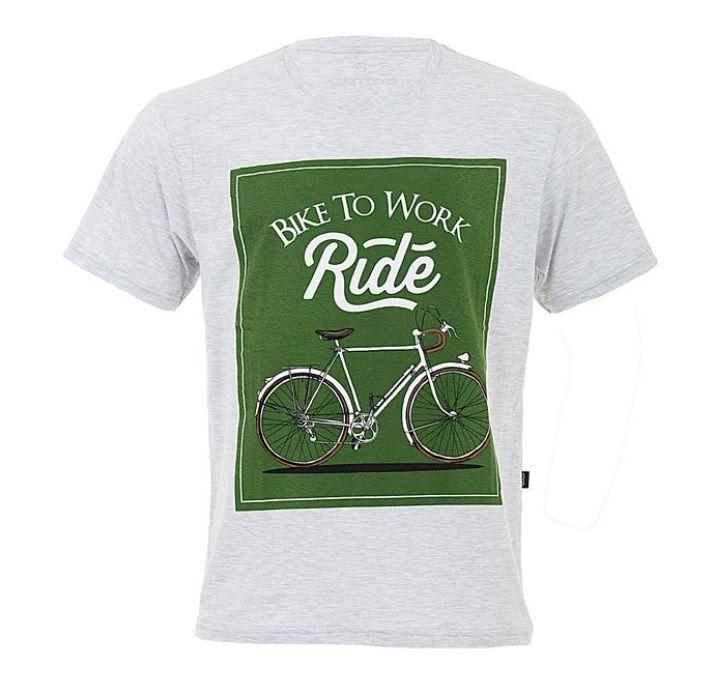 Camiseta Casual Masculina Márcio May Sports Bike To Work