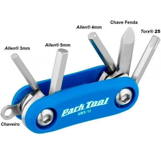 Canivete ParkTool - AWS-13 - 6 funções
