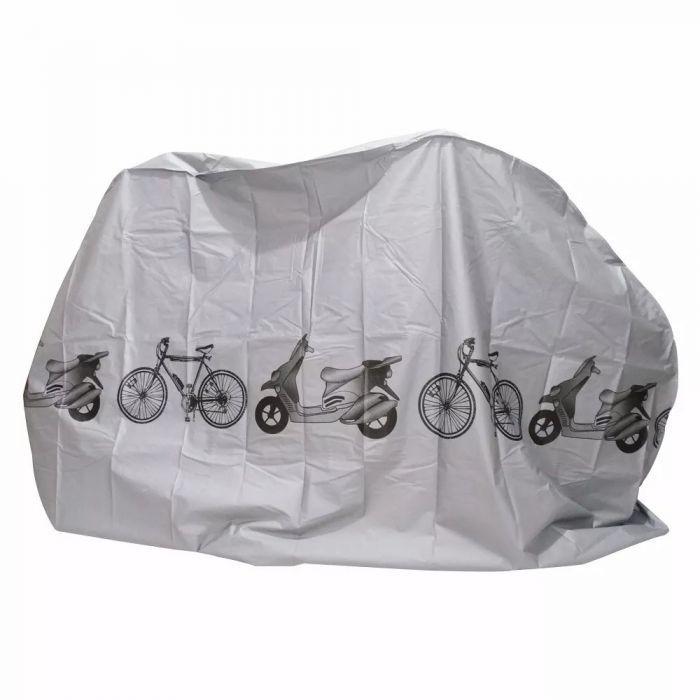 Capa P/ Bicicleta - Cinza
