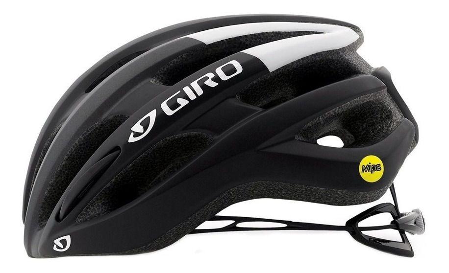 Capacete Giro - Foray Mips - Preto / Branco - Fosco