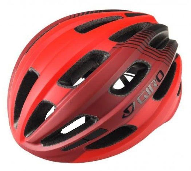 Capacete Giro - Isode - Vermelho Claro / Escuro Fosco
