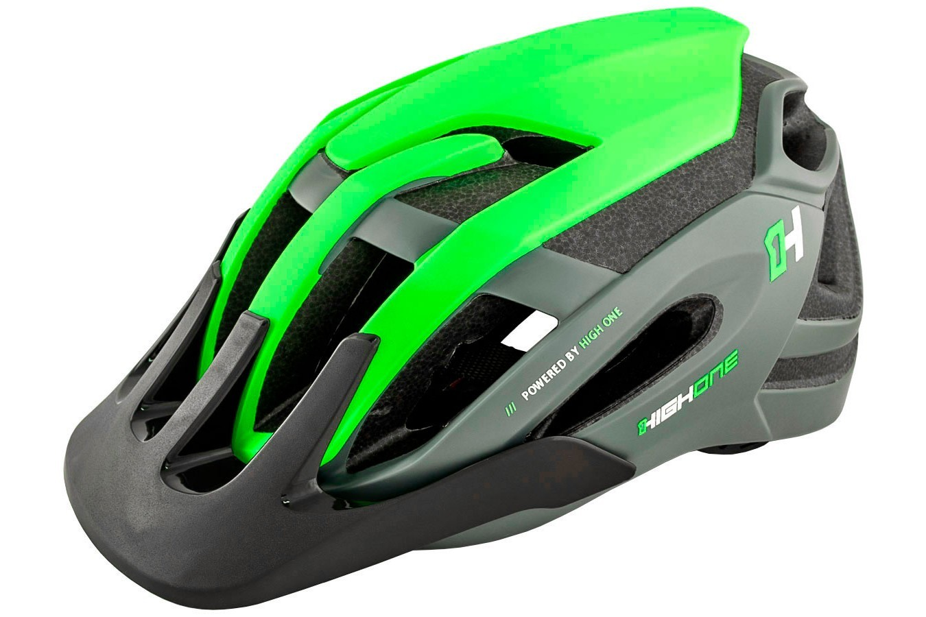 Capacete High One - Ahead - Cinza / Verde
