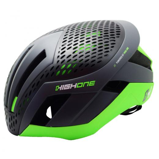 Capacete High One - Pro-Space - Cinza / Verde