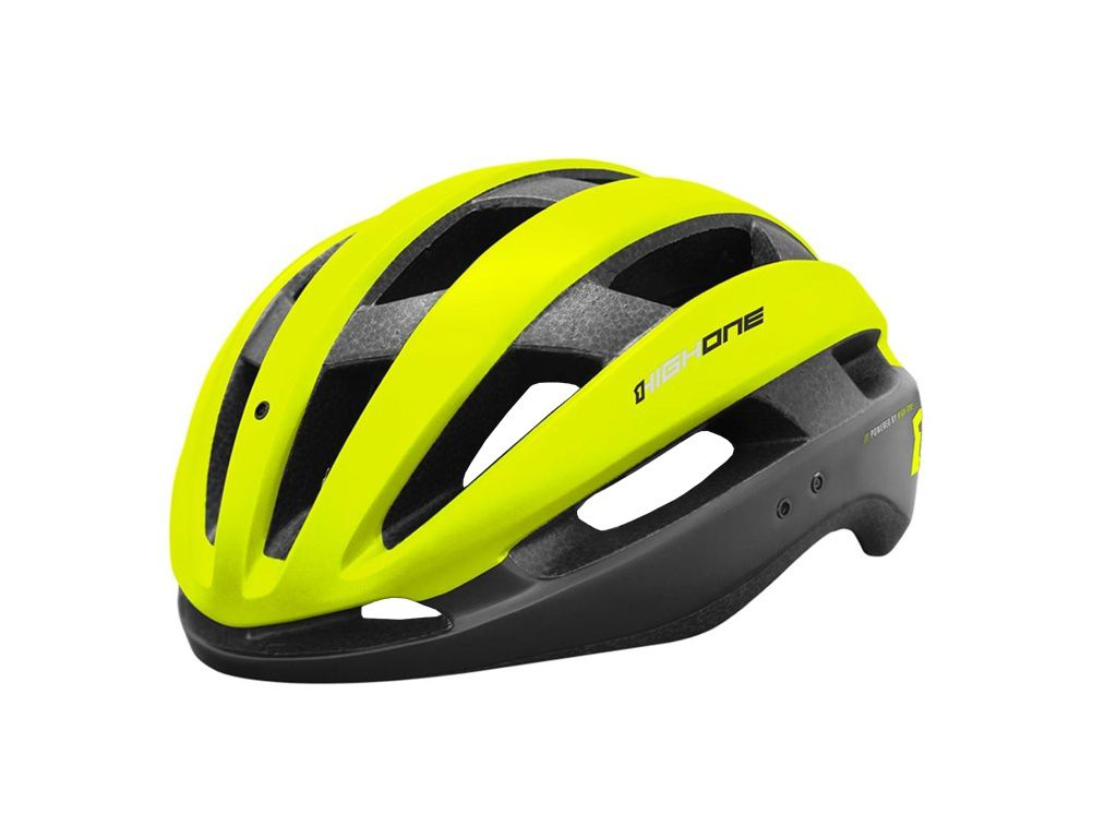 Capacete High One - Wind Aero - Preto / Verde Neon