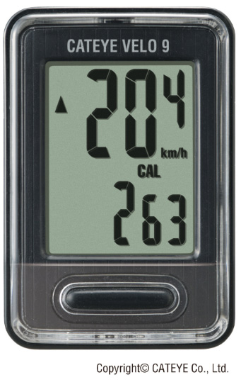 Ciclocomputador Cateye - Velo 9 VL820