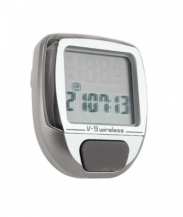 Ciclocomputador Elleven - V9W - Wireless - Cinza