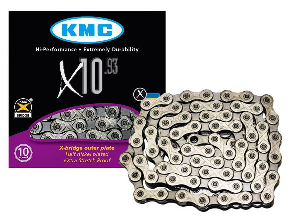 Corrente KMC - X10.93 - Prateada