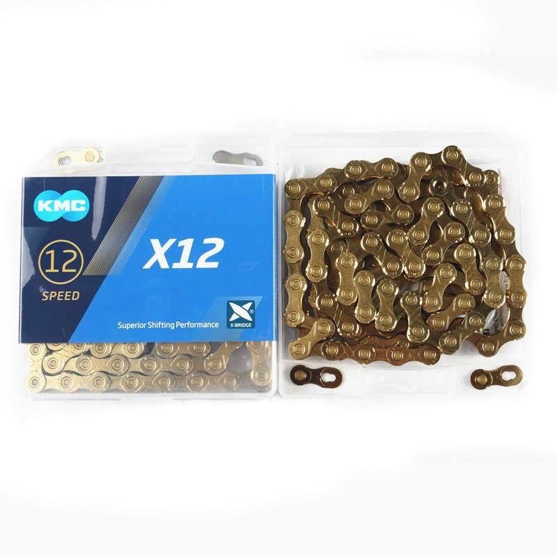 Corrente KMC - X12 - 12v - Dourada