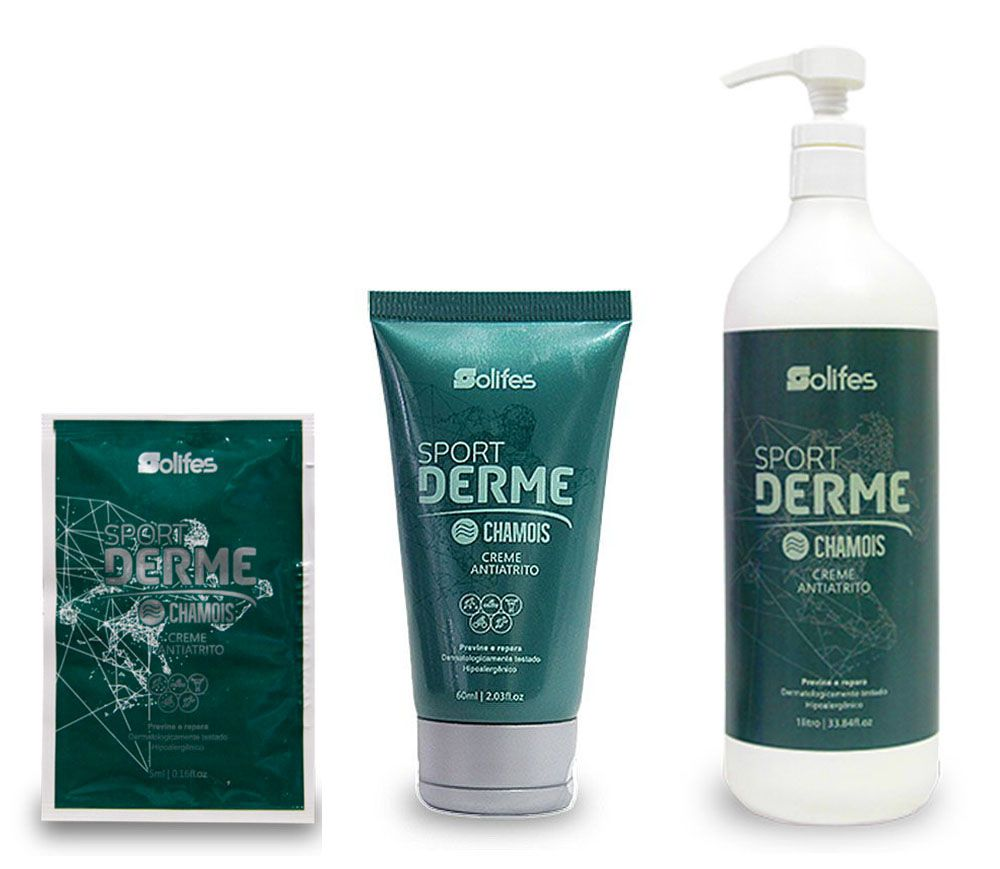 Creme Solifes - Sport Derme CHAMOIS - Antiatrito