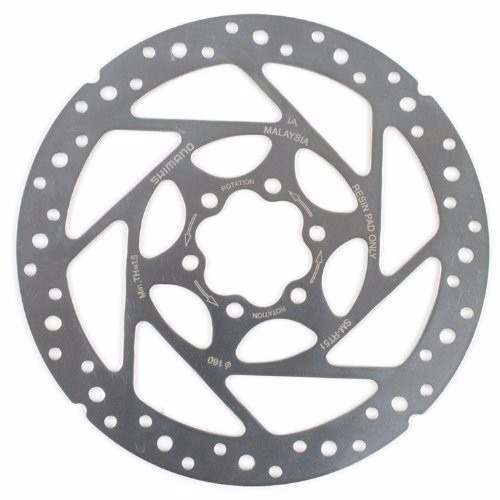 Disco / Rotor Shimano - Rt51 - 160 mm - 6 Parafusos