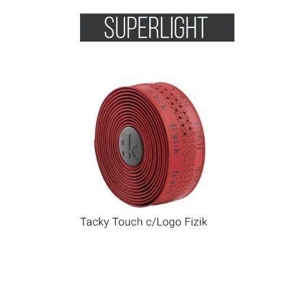 Fita de Guidão Fizik - Superlight Tacky Touch COM LOGO - 2 mm