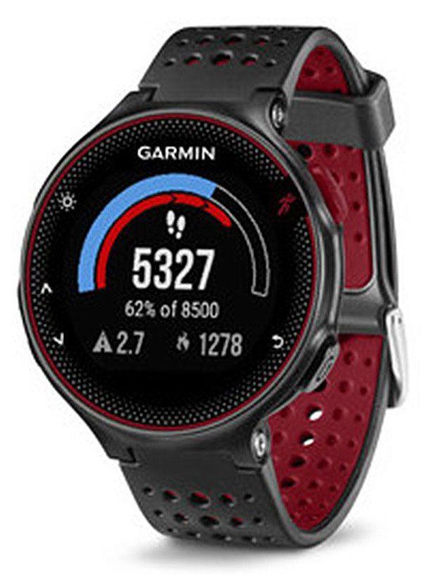 Garmin Forerunner 235 - Smartwatch GPS - Preto / Vermelho