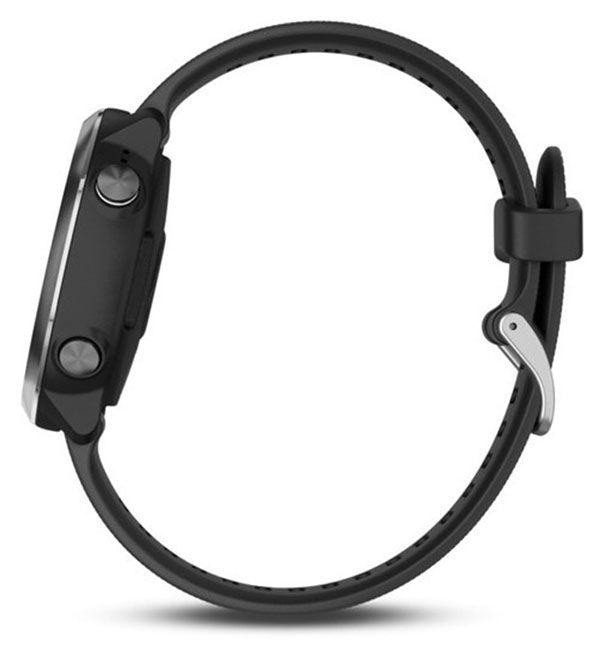 Garmin Forerunner - 645 Music - Smartwatch GPS - Multiesportivo - Prata / Preto
