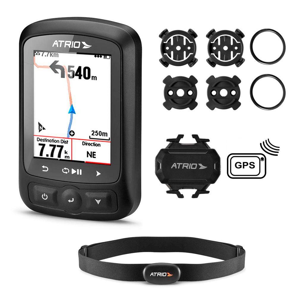 GPS Atrio Titanium - BI155 C/ Cinta e Cadência