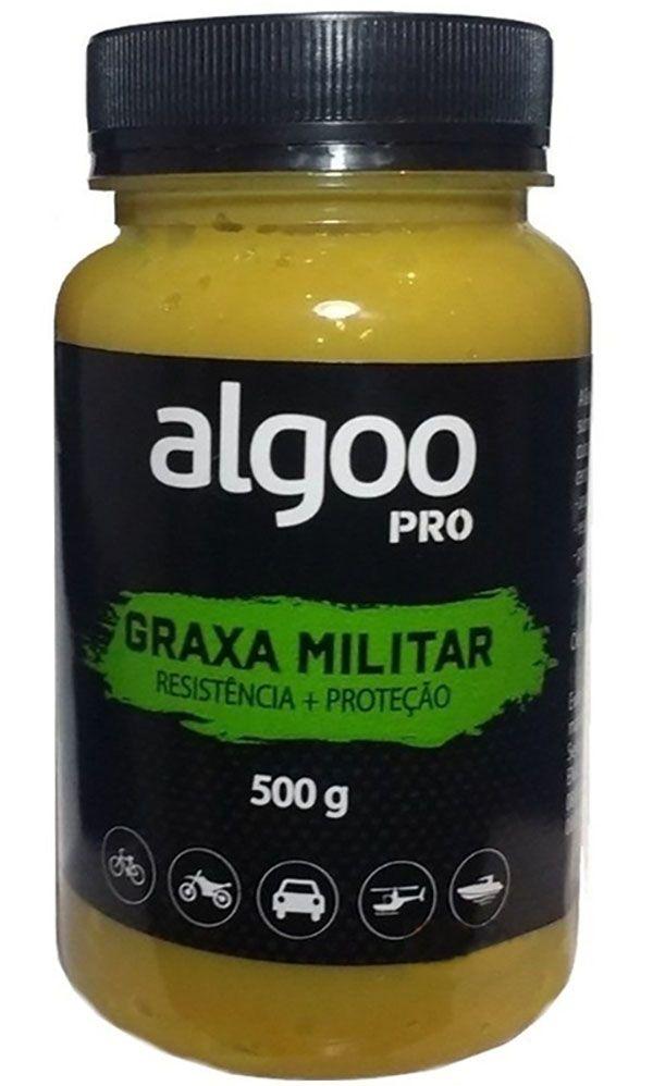 Graxa Militar Algoo Pro - 500 g - Resistência + Proteção