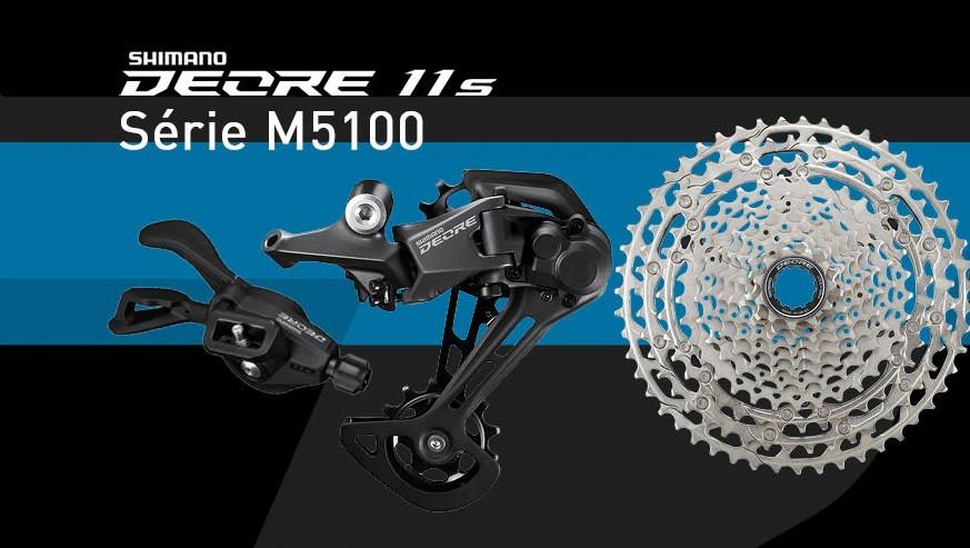 Grupo Shimano - Deore 11v - Série M5100
