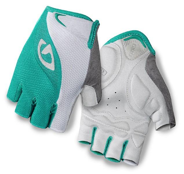 Luva Giro - Tessa LF Gel - Feminina - Branca / Verde