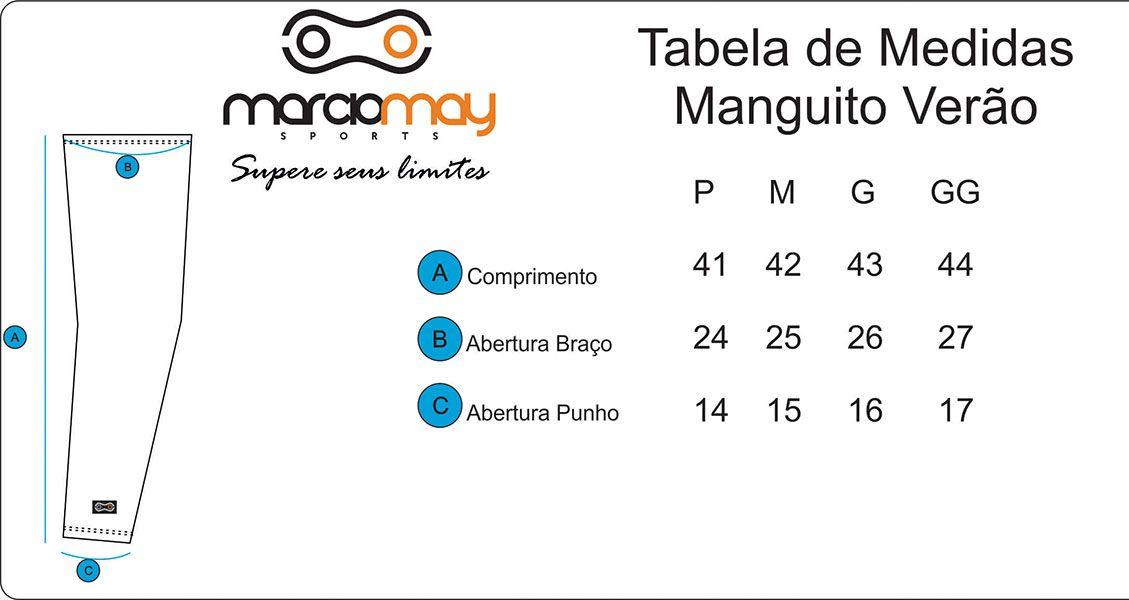 Manguito Marciomay - Verão - Preto