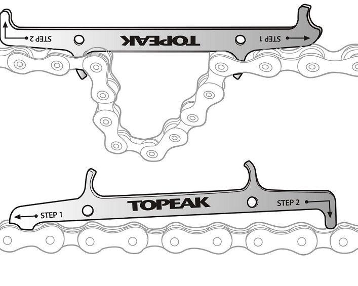 Medidor Topeak - TPS-SP09 - Desgaste de Corrente c/ Gancho