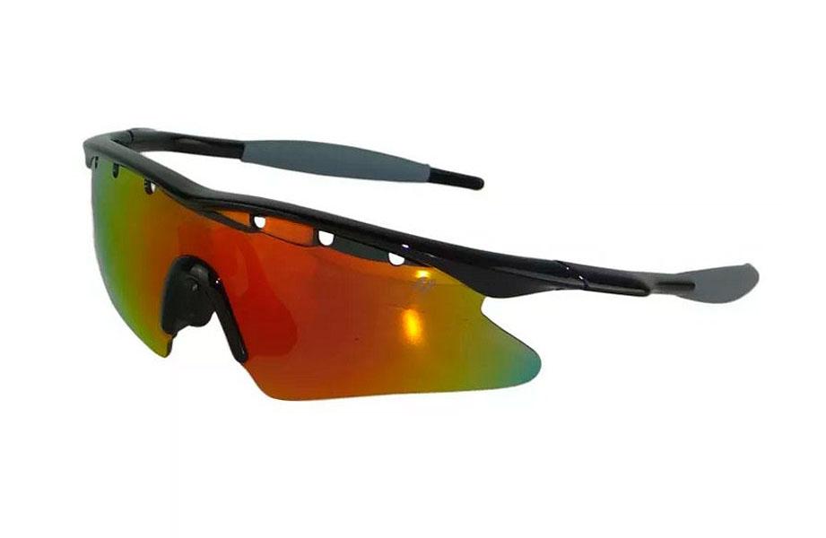 Óculos High One - Fusion - Preto / Cinza - 3 Lentes