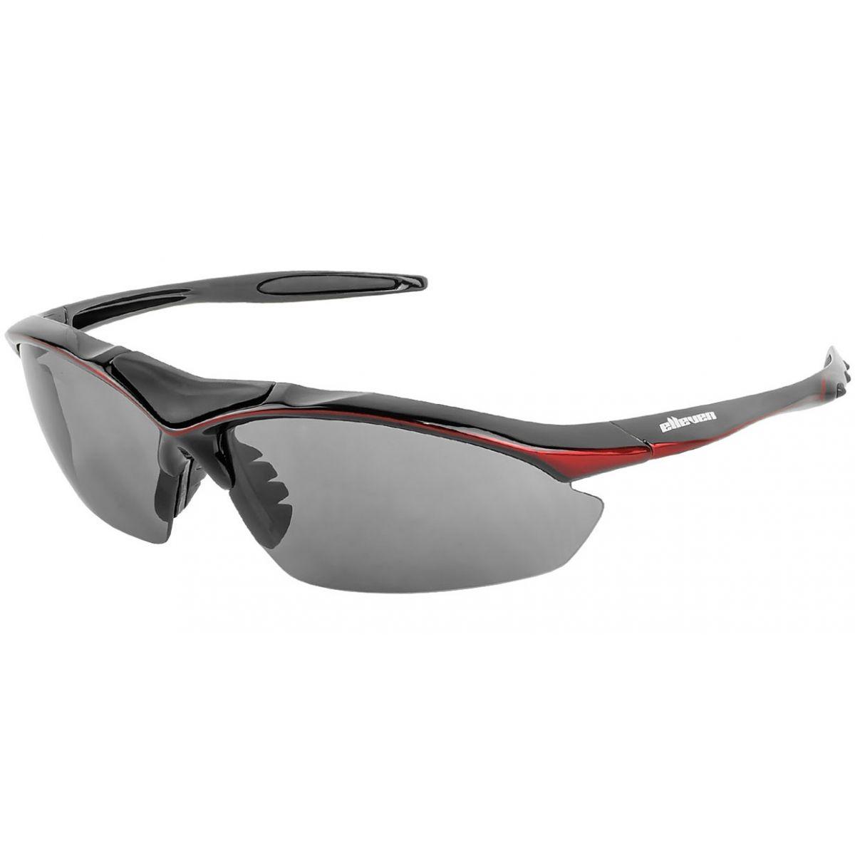 Óculos Elleven Spider - Preto c/ Vermelho