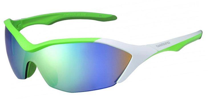 Óculos Shimano - CE-S71R-PL - Verde / Branco