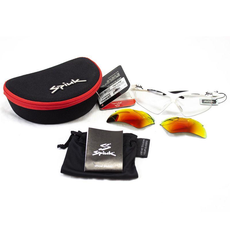 Óculos Spiuk - Ventix Lente Lumiris II - Armação Branca