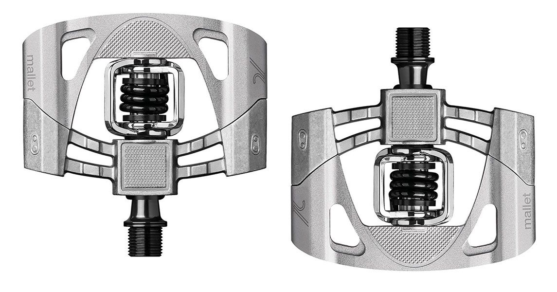 Pedal Crank Brothers - Mallet 2 - Prata