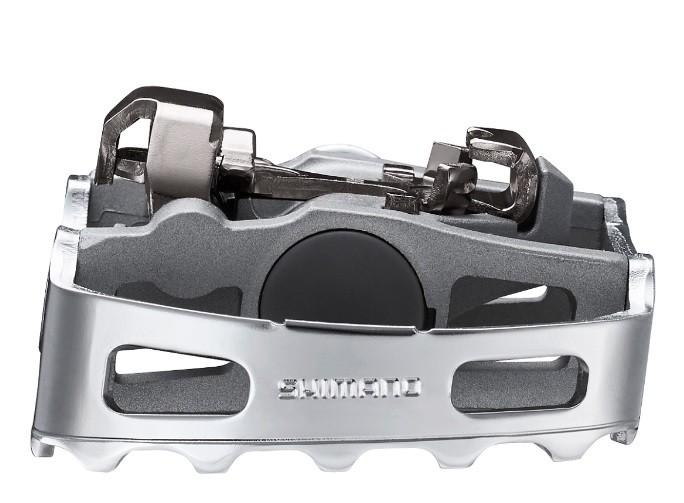 Pedal Shimano - M324 - Prata - Clip e Plataforma