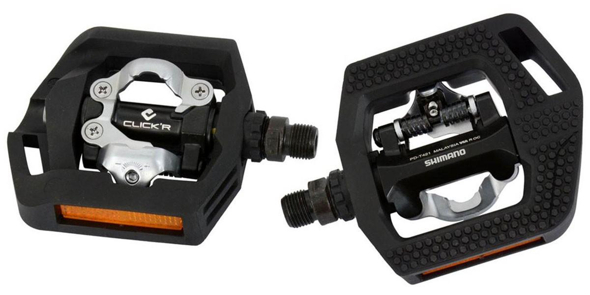 Pedal Shimano - PD-T421 - Clip e Plataforma