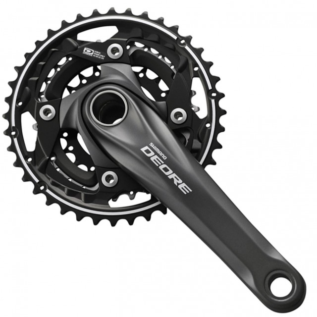 Pedivela Shimano - Deore M612-l - 22-30-40 - 175 mm - c/ Mov. Central