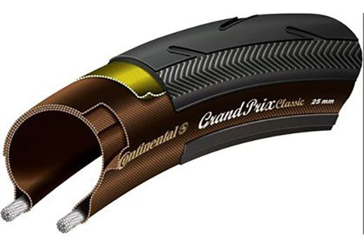 Pneu Continental - Grand Prix Classic - 700 x 25 - Kevlar