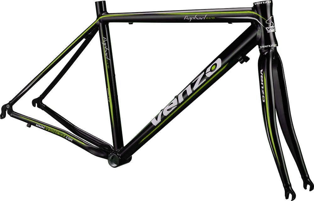 Quadro Venzo - Raphael - Preto / Verde - 52 x 54