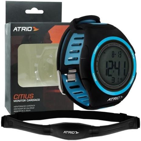 Relógio Esportivo - Atrio Citius C/ Cinta Cardíaca