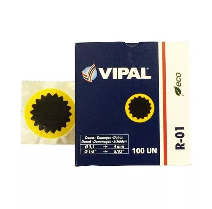 Remendo Vipal - R-01 - 40 mm - Unidade