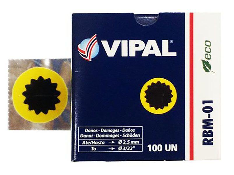 Remendo Vipal - RBM-01 - 25 mm - Unidade