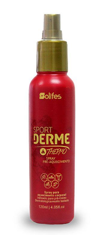Spray Solifes - Sport Derme THERMO - Pré-Aquecimento