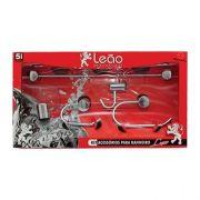 Kit de acessórios para banheiro linha luxo metal cromado 5 peças