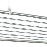 Varal de Teto Aluminio 120x075 10 Varetas