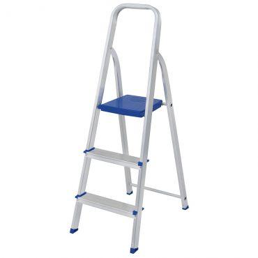 Escada aluminio 3 degraus